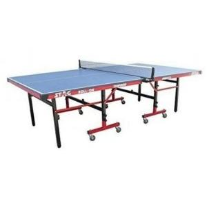 Stag Championship Roll-On With 75 mm Wheels & Levelers TTFI App. 22 mm Top Table Tennis Table 2740x1525x760 mm, TTIN 100
