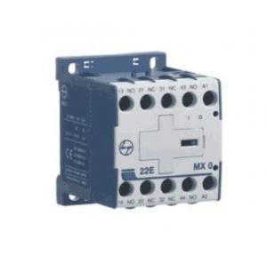 L&T Auxiliary Contactor Type MX0 13E 1NO+3NC 4A, CS94043