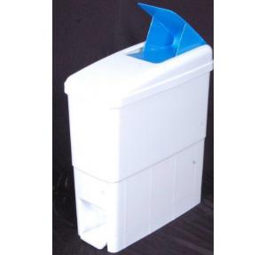 Antibacterial Disposal Sanitary Napkin Dustbin Plastic, 21 Ltr