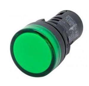 Panel Mount LED Indicator, 24V DC (Green)