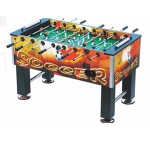 Foosball Table Set MDF Wood, 54.5x30x34.6 Inch