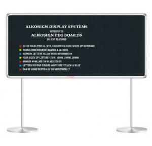 Alkosign Display Peg Board & Pedestal Stand 900x1500 mm, ASB 90150