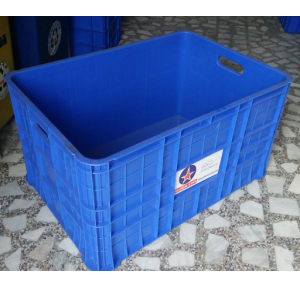 Plastic Crate, 2.5x1.5x1.5 Ft