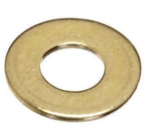 Brass Ring Washer, 6 mm