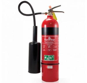Refilling of CO2 Fire Extinguishers With HP Testing, 4.5 Kg