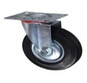 Trolley Wheel Cast Iron Caster with Base 6 Inch