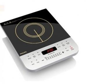Philips Viva Collection Induction Cooktop 220-240V 2100W, HD4928 (Black)