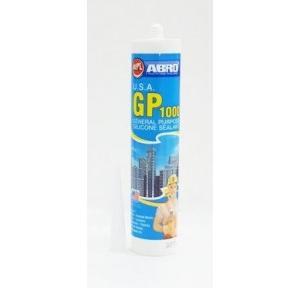 Abro General Purpose Silicone Sealant Clear 260ml, GP 1000