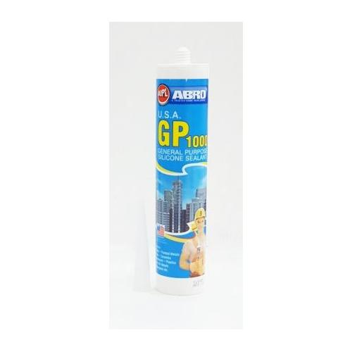 Abro General Purpose Silicone Sealant Clear 260ml, GP 1000