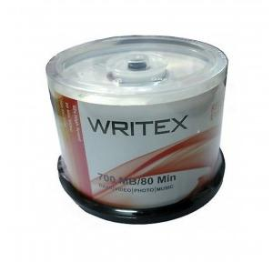 Writex CD-R Spindle 700MB/80min (Pack of 50 Pcs)
