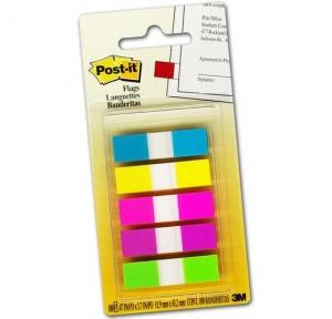 Post It Flags in 5 Colours