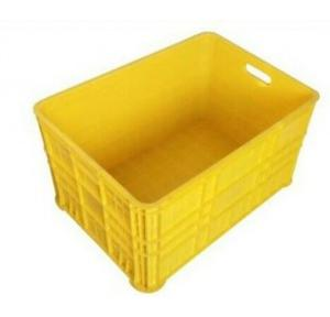 Plastic Crate 570x425mm Ft Yellow