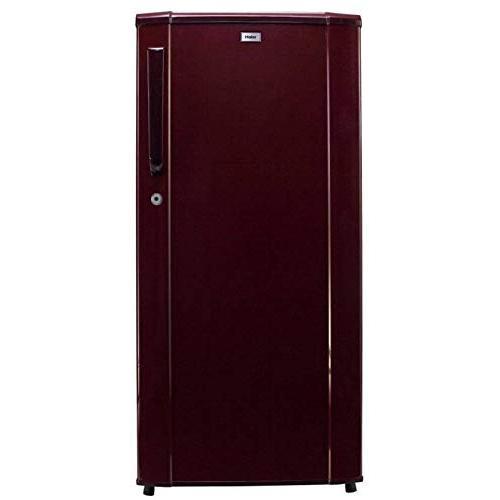 Haier Single Door Direct Cooling Refrigerator 3 Star 190 Ltr HRD-1903BBR-E (Red)