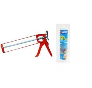 Abro General Purpose Silicone Sealant Clear 260ml GP 1000 With Silicone Sealant Gun