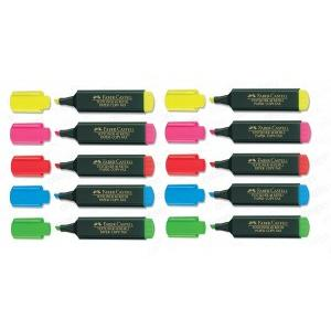 Faber Castell Highlighter Textliner Assorted Color (Pack of 10 Pcs)