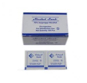 Alcohol Swab 70% IPA Pack of 100 Pcs