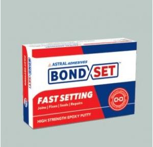 Astral Bond Set Fast Setting High Strength Epoxy Putty BONDSETFS-100, 100 gm