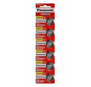 Panasonic Battery Lithium 3V Coin Cell CR2032 Pack of 6 Pcs