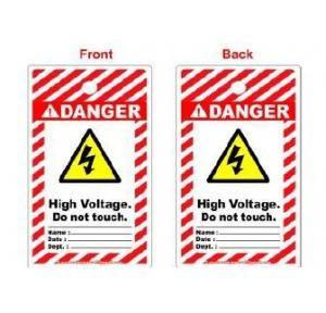 Lockout Photo High Voltage Tag SH-T-HIV Pack of 10