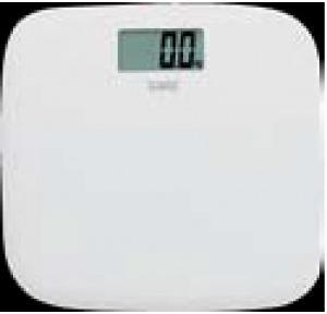 Samso Skinny Digital With LED Display White Weighing Scale 150kgx100gm 31x29.4x2.65 Cm