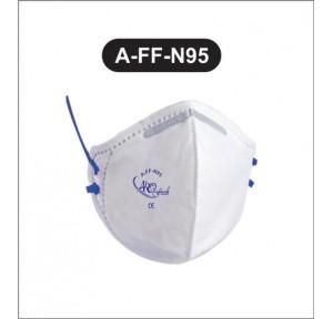 Airofresh Polypropylene Industrial A-FF N95 Universal Face Mask (Pack of 2)