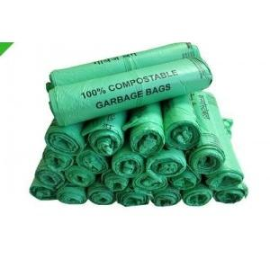 Compostable Garbage Bag 20 Micron 30x40 Inch Green 1 kg
