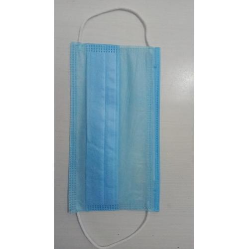 Surgical Face Mask 3 Ply Ear Loop Mount 60GSM (Pack of 100 Pcs) Blue