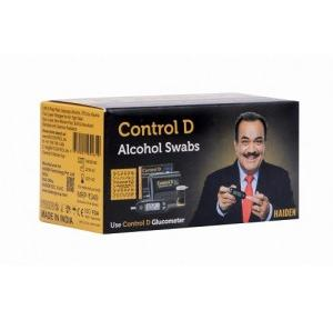Control D Alcohol Swab 70% IPA Pack of 100 Pcs