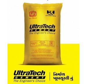 Ultratech PPC Cement Astm Grade 53, 50 kg