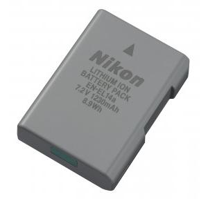 Nikon 27126 EN-EL 14A Rechargeable Li-Ion Battery Black