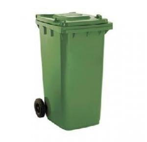 Wheel Waste Plastic Dustbin With Foot Pedal 120 Ltr