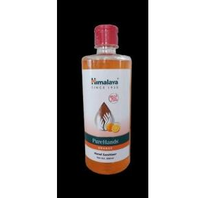 Himalaya Hand Sanitizer Gel Orange 70% Alcohol with Flip Top Cap, 500 ml