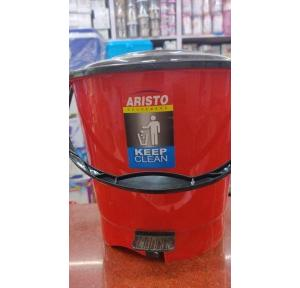 Aristo Heavy Duty Pedal Dustbin with Cover 7 Ltr