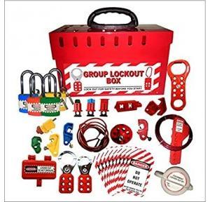 Safety House Loto Group Lockout Tagout Loto Kit -18 Set