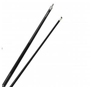 Wooden Pool Cue With Tip 10mmx57 Inch, 2 Pcs