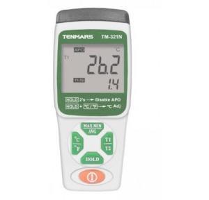 Tenmars Dual K Type Thermometer, TM-321N