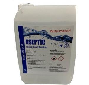 Buzil Rossari Ross Aseptic Instant Hand Sanitizer Liquid  70% Ethanol, 5 Ltr