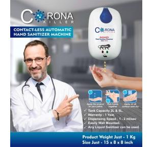Corona Killer Contact-Less Automatic Hands Sanitizer Dispenser 5 Ltr