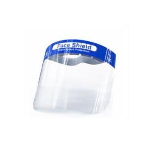 Safety Face Shield Anti-Fog Skin-Friendly 350 Micron (Pack of 50 Pcs)