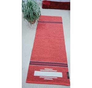 Cotton Yoga Mat 6mm Thickness, 70x190cm (Multicolour)