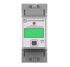 L&T Energy Meter 5-40A 1P CIass 1 DIN, WD4000101OOO