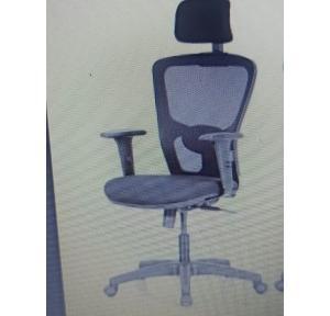 Featherlite Anatom High Back Desk Arm Chair (Black)