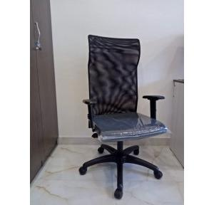 Featherlite Contact High Back Chair (Black)