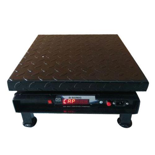 DM Digital Weighing Scale 400x400 mm SS Pan Maximum 50 Kg