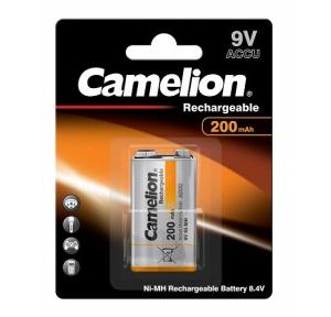 Camelion Rechargeable Battery 9V, NH-9V200BP1