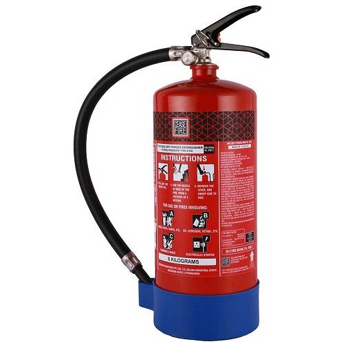 Refilling of Fire Extinguishers ABC MAP90 With HP Testing 6 Kg