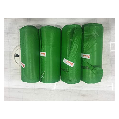 Pearl Garbage Cover 40 Micron 40x50 Inch Green (Pack of 10 Pcs)