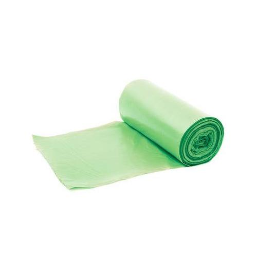 Plasto Garbage Cover 40 Micron 30x50 Inch Green (Pack of 10 Pcs)