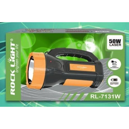 Rock Light Rechargeable Torch 50W RL-1731W