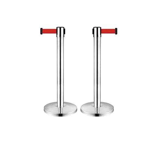 Dolphy Stainless Steel Silver Queue Manager Set of 2